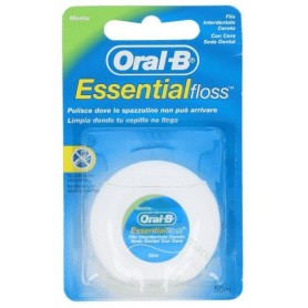 ORAL-B ESSENTIAL FLOSS FLUOR SEDA DENTAL CON CER