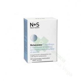 Ns Melatonina 1.95 Mg 30 Comp Masticables